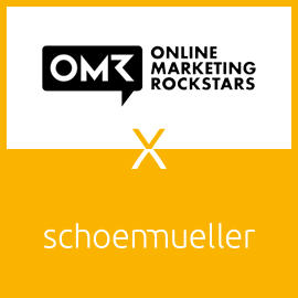 schoenmueller auf dem Online Marketing Rockstars Festival in Hamburg